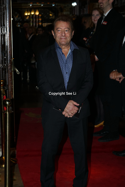 London, UK. 31st October 2017. Jeff Wayne is an American composer, musician and lyricis arrive to celebrate the West End premiere of The Exorcist, directed by Sean Mathias an opening night on Halloween at Phoenix Theatre.