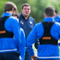 St Johnstone Training…29.07.16<br />Manager Tommy Wright pictured during training this morning at McDiarmid Park<br />Picture by Graeme Hart.<br />Copyright Perthshire Picture Agency<br />Tel: 01738 623350  Mobile: 07990 594431