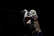 Punk Rock Icon Iggy Pop & The Stooges at Open Flair Festival 2011 in Eschwege. Photo by Ruediger Knuth.