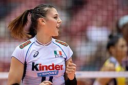17-05-2016 JAP: OKT Dominicaanse Republiek - Italie, Tokio<br /> Italië verslaat Dominicaanse Republiek  met 3-0 / Alessia Gennari #8 of Italie