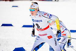 March 16, 2018 - Falun, SVERIGE - 180316 Anna Dyvik, Sverige tÅvlar i finalen i sprint under Svenska Skidspelen den 16 mars 2018 i Falun  (Credit Image: © Simon HastegRd/Bildbyran via ZUMA Press)