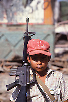 young El Salvador guerrilla soldier
