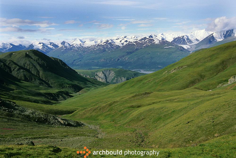Kluane National Park landscape, Yukon