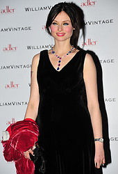 © Licensed to London News Pictures. 10/02/2012. London, England. Sophie Ellis Bextor attends a private dinner ahead of sundays Bafta awards hosted by William Banks-Blaney of WilliamVintage and actress Gillian Anderson at St Pancras Renaissance Hotel London  Photo credit : ALAN ROXBOROUGH/LNP