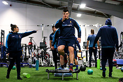 Joe Morris of Worcester Warriors during training ahead of the European Challenge Cup Pool Fixture against State Francais - Mandatory by-line: Robbie Stephenson/JMP - 15/01/2019 - RUGBY - Sixways Stadium - Worcester, England - Worcester Warriors Training