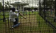 .Photo Peter Spurrier.20/06/02.Sachin Tendulka, batting net parctice, Lords. 20020620, India Test Team, Nets, Lords. [Mandatory Credit Peter Spurrier:Intersport Images]