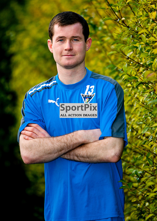 The Clydesdale Bank Scottish Premier League, Season 2011/12.Dunfermline Athletic Football Club - Pre match news conference (Celtic FC).29-12-11...Paddy Boyle in this afternoons Dunfermline Athletic FC Pre match news conference...At Pitreavie- Dunfermline Academy of sport, Dunfermline...Picture, Craig Brown ..Thursday 29th December 2011.