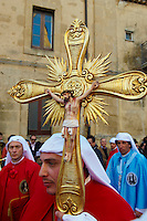 Italie, Sicile, Enna, procession du vendredi saint // Italy, Sicily, Enna, Procession of Good Friday