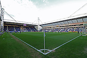 Deepdale during the Sky Bet Championship match between Preston North End and Burnley at Deepdale, Preston, England on 22 April 2016. Photo by Pete Burns.