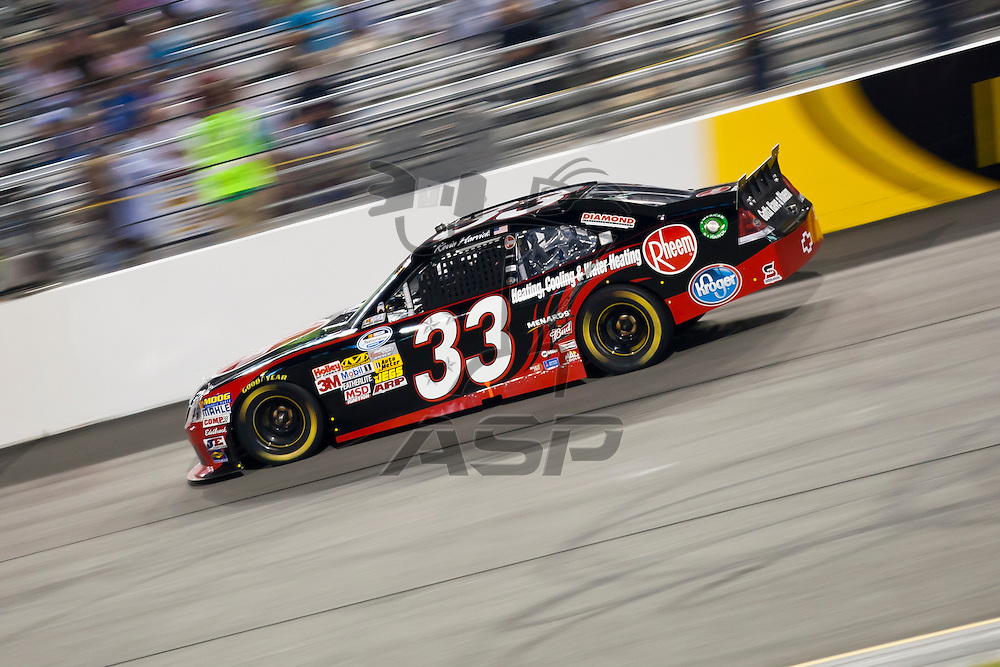 RICHMOND, VA  - SEP 09, 2011:  Kevin Harvick takes to the track for the Virginia 529 College Savings 250 at the Richmond International Raceway in Richmond, VA.