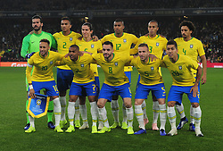 November 16, 2018 - London, England, United Kingdom - London, England - November 16, 2018.Brazilian Team.during Chevrolet Brazil Global Tour International Friendly between Brazil and Uruguay at Emirates stadium , Arsenal Football Club, England on 16 Nov 2018. (Credit Image: © Action Foto Sport/NurPhoto via ZUMA Press)