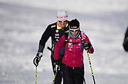 VAL SENALES 2016-10-23<br /> Tr&auml;ningsl&auml;ger landslag Val Senales<br /> Charlotte Kalla och Magnus Ingesson<br /> Foto: Nils Petter Nilsson/Ombrello