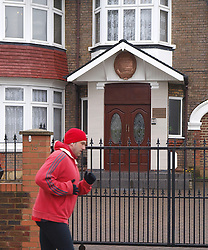 A jogger goes past the North Korean embassy near Ealing,London, whilst a few miles away the Foreign Ministers of the G8 were meeting to discuss the situation with North Korean, Thursday   April 11, 2013. Photo by Max Nash / i-Images.