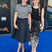 NLD/Amsterdam/20150620- Filmpremiere Code M, Vivienne van Assem en Evie