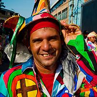 DANCING DEVILS OF NAIGUATA / DIABLOS DANZANTES DE NAIGUATA<br /> Photography by Aaron Sosa<br /> Joito, Presidente de la cofradía de los Diablos de Naiguata.<br /> Naiguata, Vargas State - Venezuela 2010.<br /> (Copyright © Aaron Sosa)