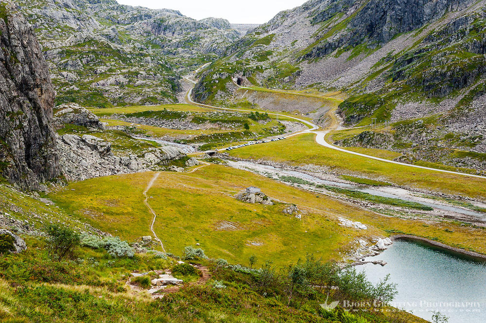 Norway, Suldal. Øvre Moen.