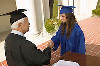 Graduate Receiving Diploma
