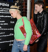06.JUNE.2012. LONDON<br /> <br /> PIXIE GELDOF AND GEORGE BARNETT LEAVING THE DOVE BAR IN LONDON<br /> <br /> BYLINE: EDBIMAGEARCHIVE.CO.UK<br /> <br /> *THIS IMAGE IS STRICTLY FOR UK NEWSPAPERS AND MAGAZINES ONLY*<br /> *FOR WORLD WIDE SALES AND WEB USE PLEASE CONTACT EDBIMAGEARCHIVE - 0208 954 5968*