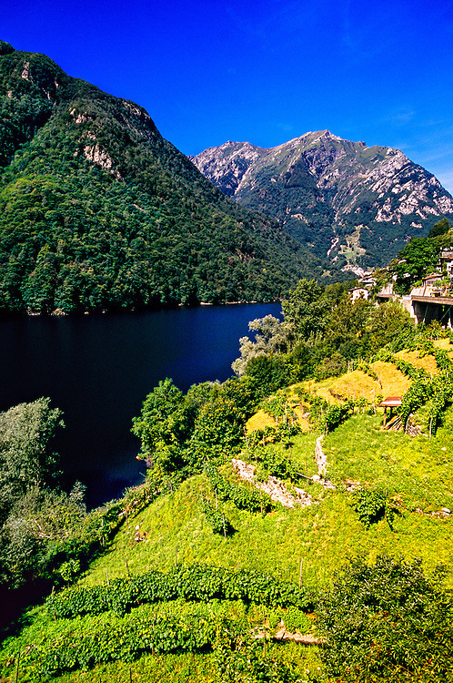 Vogorno, Verzasca Valley, Ticino, Switzerland