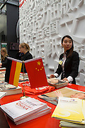 Buchmesse Frankfurt, biggest book fair in the World. Guest Country China.