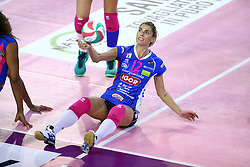 22-10-2016 ITA: Metalliche Montichiari - Igor Gorgonzola Novara, Montichiari<br /> Novara wint met 3-0 / Francisca Piccinini #12<br /> <br /> ***NETHERLANDS ONLY***