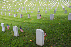 May 29, 2017 - Los Angeles, California, U.S - 90,000 American flags are placed on the graves of fallen war heroes for Memorial Day at the Los Angeles National Cemetery in Los Angeles, California on Monday May 29, 2017. (Credit Image: © Prensa Internacional via ZUMA Wire)