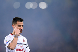 February 3, 2019 - Rome, Rome, Italy - Suso of Milan during the Serie A match between Roma and AC Milan at Stadio Olimpico, Rome, Italy on 3 February 2019. (Credit Image: © Giuseppe Maffia/NurPhoto via ZUMA Press)