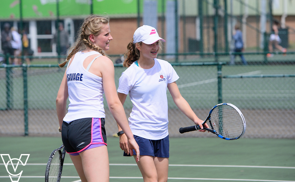 Team Tennis Schools National Championships Finals 2017 held at Nottingham Tennis Centre.  Berhamsted School<br /> <br /> Picture: Chris Vaughan Photography for the LTA<br /> Date: July 12, 2017