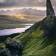 Applecross from the Old Man of Storr, Isle of Skye