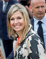Den Bosch,  23-05-2016<br /> <br /> Queen Maxima attend NPO Radio 4 Classic gives at  school de Kruisboelijn<br /> <br /> COPYRIGHT:ROYALPORTRAITS EUROPE/BERNARD RUEBSAMEN