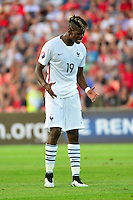 Deception Paul POGBA - 13.06.2015 - Albanie / France - Match Amical - Tirana<br />