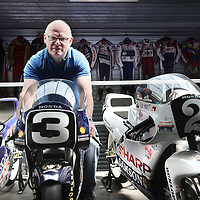 Nederland, Castricum, 23 mei 2014.<br /> Hans Spaan, 25 jaar geleden de laatste Nederlandse winnaar van de TT in Assen.<br /> Foto:Jean-Pierre Jans