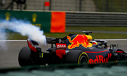 April 14, 2018 - Shanghai, China - has an engine failure during practice  (Credit Image: © Hoch Zwei via ZUMA Wire)