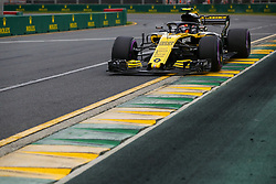 March 24, 2018 - Melbourne, Victoria, Australia - 55 SAINZ Carlos (spa), Renault Sport F1 Team RS18, action during 2018 Formula 1 championship at Melbourne, Australian Grand Prix, from March 22 To 25 - s: FIA Formula One World Championship 2018, Melbourne, Victoria : Motorsports: Formula 1 2018 Rolex  Australian Grand Prix, (Credit Image: © Hoch Zwei via ZUMA Wire)