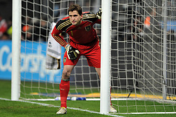 03.03.2010, Allianz Arena Muenchen, Muenchen, GER,  Laenderspiel Deutschland ( GER ) - Argentinien ( ARG ) 0 - 1. Im Bild Rene Adler ( GER / Leverkusen #01 ). EXPA Pictures © 2010, PhotoCredit: EXPA/ nph/  Kurth / for Slovenia SPORTIDA PHOTO AGENCY.