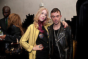MARY CHARTERIS, Esquire Magazine's June issue hosted by the magazine's new editor Alex Bilmes and singer Lily Allen. Sketch.  5 May 2011<br /> <br />  , -DO NOT ARCHIVE-© Copyright Photograph by Dafydd Jones. 248 Clapham Rd. London SW9 0PZ. Tel 0207 820 0771. www.dafjones.com.