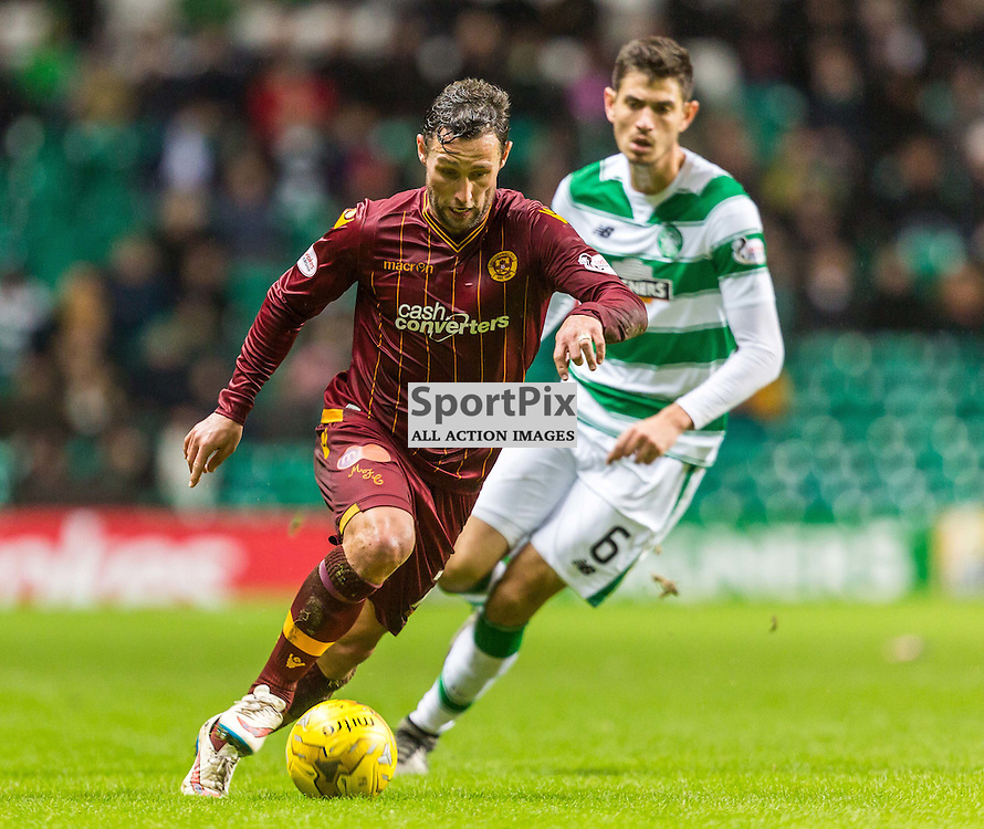 Scott McDonald in action during the match between Celtic and Motherwell (c) ROSS EAGLESHAM | Sportpix.co.uk