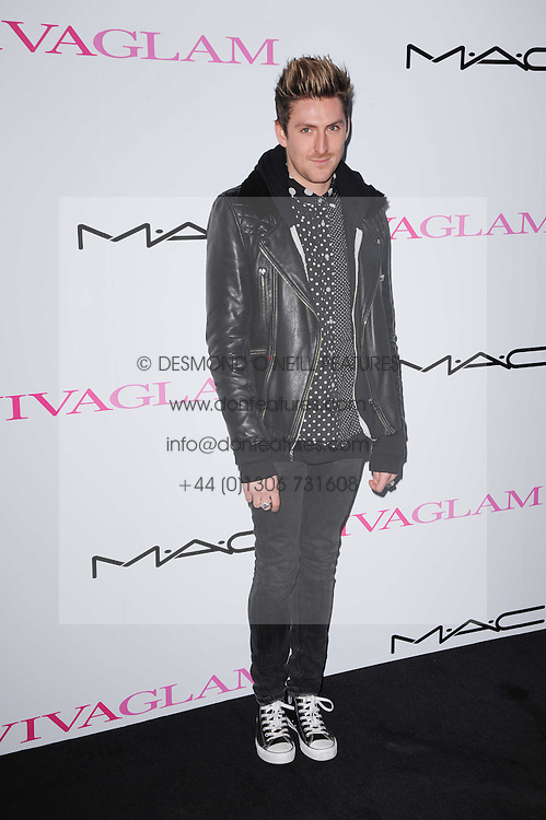 HENRY HOLLAND at the MAC VIVA GLAM discussion hosted by Sharon Osbourne to promote MAC's latest fundraising range with all proceeds donated to HIV/AIDs charities via the MAC AIDS Fund, at Il Bottaccio, 9 Grosvenor Place, London on 1st March 2010.