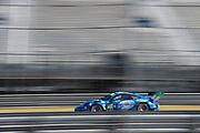 May 4-6, 2017: IMSA Sportscar Showdown at Circuit of the Americas. TRG, Porsche 911 GT3 R, Derek DeBoer, Jan Heylen, Santiago Creel