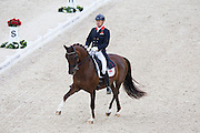 Gareth Hughes - DV Stenkjers Nadonna<br /> Alltech FEI World Equestrian Games™ 2014 - Normandy, France.<br /> © DigiShots