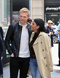 Tiffany Smith and Charlie Field are seen leaving Build Studios. . 23 May 2019 Pictured: Tiffany Smith, Charlie Field. Photo credit: Joe Russo / MEGA TheMegaAgency.com +1 888 505 6342