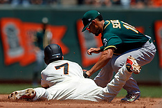 20180715 - Oakland Athletics at San Francisco Giants