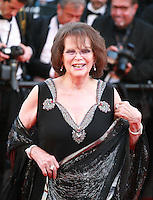 Claudia Cardinale at the gala screening for the film Inside Out at the 68th Cannes Film Festival, Monday May 18th 2015, Cannes, France