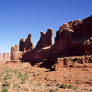 """Park Avenue"" Arches National Park"