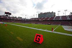 Nov 12, 2011; Stanford CA, USA;  General view of Stanford Stadium before the game between the Stanford Cardinal and the Oregon Ducks.  Mandatory Credit: Jason O. Watson-US PRESSWIRE