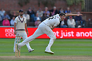 Craig Overton of Somerset bowling during the opening day of the Specsavers County Champ Div 1 match between Somerset County Cricket Club and Surrey County Cricket Club at the Cooper Associates County Ground, Taunton, United Kingdom on 18 September 2018.