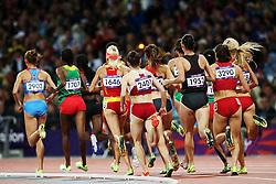 Olympics - London 2012 Olympic Games - 6/8/12.Athletics - Women'S 3000 steeplechase Final - .Illustration.© pixathlon *** Local Caption *** © pixathlon