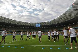08.07.2014, Mineirao, Belo Horizonte, BRA, FIFA WM, Brasilien vs Deutschland, Halbfinale, im Bild Mineirao staium where Germany and Brasil will play the first semifinal of the World Cup 2014, in Belo Horizonte, Brazil, 8 th, July 2014. // during Semi Final match between Brasil and Germany of the FIFA Worldcup Brazil 2014 at the Mineirao in Belo Horizonte, Brazil on 2014/07/08. EXPA Pictures © 2014, PhotoCredit: EXPA/ Eibner-Pressefoto/ Cezaro<br /> <br /> *****ATTENTION - OUT of GER*****