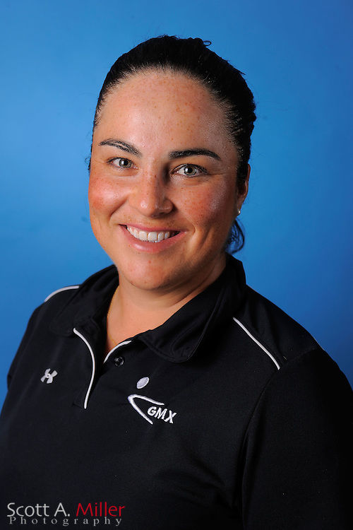 Lili Alvarez during a portrait session prior to the second stage of LPGA Qualifying School at the Plantation Golf and Country Club on Sept. 25, 2011 in Venice, FL...©2011 Scott A. Miller