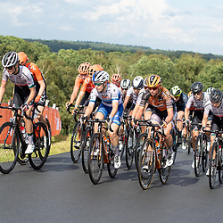 22-08-2020: Wielrennen: NK vrouwen: Drijber<br /> Amy Pieters Amy (Netherlands / Boels - Dolmans Cycling Team), Chantal van den Broek - Blaak (Netherlands / Boels - Dolmans Cycling Team) Demi Vollering (Netherlands / Team Parkhotel Valkenburg)